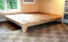 simple bed frames platform for frame wallpaper king diy with storage