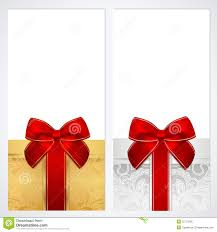 voucher gift certificate coupon template box royalty stock voucher gift certificate coupon template box