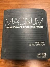 kohler engines parts manual magnum model m14 14hp d 14 99 kohler magnum twin cylinder engine parts service manual for mv16 mv18