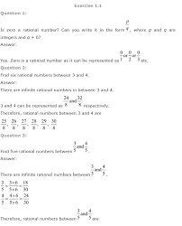 NCERT Solutions for Class 9th Maths: Chapter 1 Number Systems ...