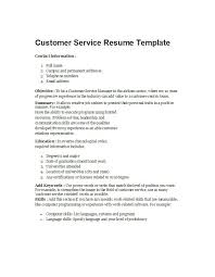 Customer Service In 3 Words 30 Customer Service Resume Examples Template Lab