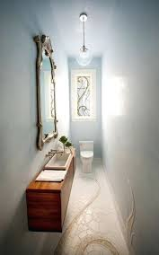powder room lighting a pendant like the bubbles is a great choice for slim powder rooms