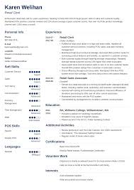 Retail Resume Objective Examples Retail Resume Sample And Complete Guide 20 Examples