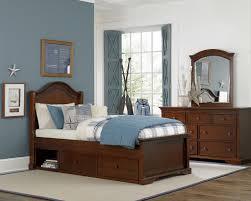 bedroom furniture photo. Morgan Arch Bed, MANUFACTURER: NE-kids, FINISHES: Chestnut And White Bedroom Furniture Photo