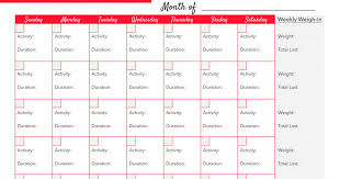 Hairspray Monthly Workout Record Pdf Salons Monthly