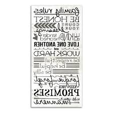 trendy family rules canvas wall art inside designs direct 20 in x 10 in