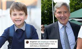 Prince Louis looks just like Michael Middleton in birthday photo | Daily  Mail Online