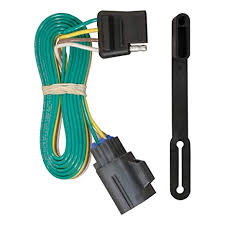 amazon com curt 56245 vehicle side custom 4 pin trailer wiring amazon com curt 56245 vehicle side custom 4 pin trailer wiring harness for select chevrolet traverse gmc acadia buick enclave automotive