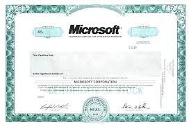 Corporate Stock Certificate Template Corporate Share