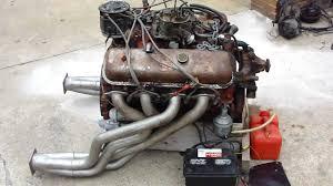 CHEVY 454 ENGINE START UP ON GROUND * HOT RATROD ENGINE * TEST RUN ...