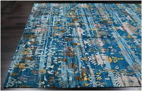 blue and brown contemporary area rugs rugsville tribal ikat modern sari silk gold rug x for with circles all floor deer victorian style spanish home