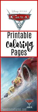 Small Picture CARS 3 Movie Review Printable Coloring Pages The Momma Diaries