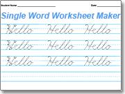 Handwriting Worksheets Maker Amazing Dnealian Handwriting Worksheet Maker