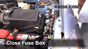 blown fuse check pontiac vibe pontiac vibe l  6 replace cover secure the cover and test component