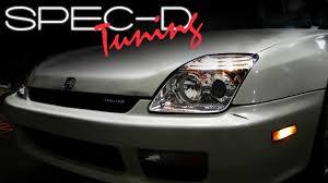 Honda Prelude Light Bulb Size Specdtuning Installation Video 1997 2001honda Prelude Headlights