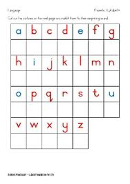# not suitable for all phones. Montessori Phonetic Alphabet Worksheets By Olga Rossler Tpt