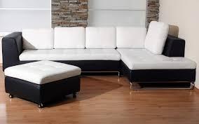 Living Room:Elegant Corner White Leather Sofa Design Ideas For Minimalist  Living Room With Laminated