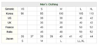 Korea Blog Demystifying Korean Sizes