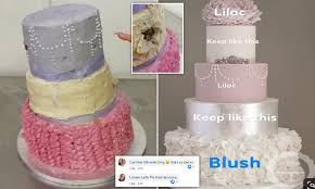 Cake Designer Education Requirements 160 Wedding Cake Assembled With Kebab Sticks And Craft