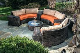 curved outdoor sectional curved outdoor sectional cushions outdoor patio furniture chairs tables dining sets housewarmings curved
