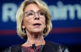 Betsy Devos Resume Education Department Voids Rule Barring Collection Fees Money 93