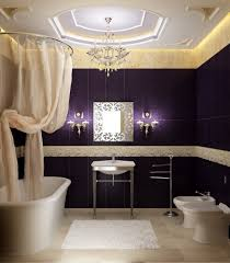 Purple Themed Bathroom Purple Wall Painted For Luxury Bathroom Themed Feat Comfy