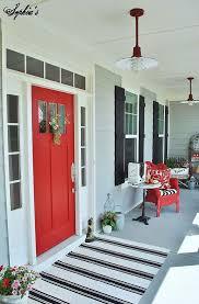 farmhouse style front doorsFront Door Drama  Elements of Style Blog