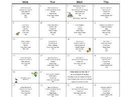 Sample Menu Template Sample Menu Template Free School Lunch