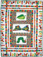 Very Hungry Caterpillar Cot Quilt Kit | Ideas | Pinterest | Cot ... & The Cotton Patch Very Hungry Caterpillar Cot Quilt Kit Adamdwight.com