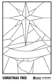 Christmas Stained Glass Patterns Interesting Free Christmas Tree Pattern Holiday Holiday