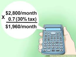 Salary Calculator Inspiration 48 Ways To Figure Out Your Yearly Salary WikiHow