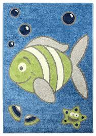 magic under the sea rug blue area rug 33911 x 5397