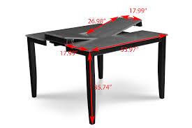 fullerton counter height black table