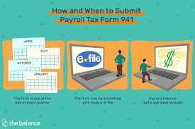 Payroll Tax Calculator Texas 2015 How To Complete And File Form 941 For Payroll Taxes