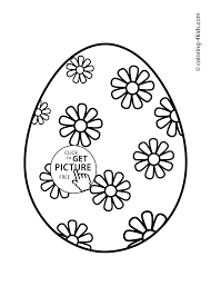 Small Picture Easter egg coloring pages for kids prinables 08