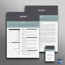 Modern Cv Template Free Download Uk