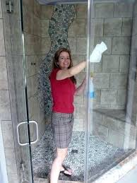 cleaning a shower bathroom cleaning glass shower door with window design cleaning glass shower door how