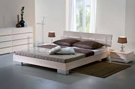 solid wood beds  hasena woodline reca  duo solid wooden bed