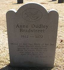 anne bradstreet memorial marker for anne bradstreet in the old north parish burial ground north andover massachusetts