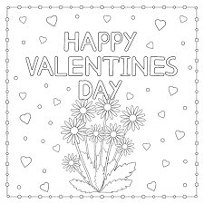 Lead preschoolers in making st. Valentine S Day Coloring Pages Heart Love Themed Coloring Pages For Kids Adults Printables 30seconds Mom