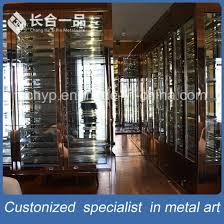 wine cellar furniture. Customized Rose Gold Hairline Red Wine Cellar Cabinet Furniture U