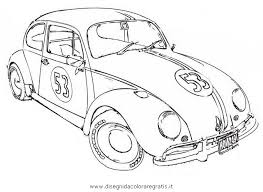Small Picture Love Bug Herbie The Movie Coloring Page Coloring Pages Crafts