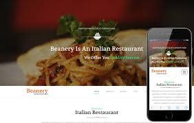 Restaurant Website Templates Enchanting Beanery A Restaurant Category Flat Bootstrap Responsive Web Template