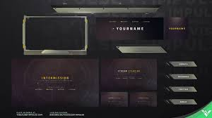Twitch Stream Design Pilot Animated Stream Graphics Twitch And Mixer Design