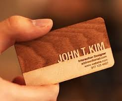 wooden business cards engraved wooden business cards