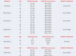 Elbow Sleeve Size Chart 77 Perspicuous Nike Pro Combat Elbow Sleeve Size Chart