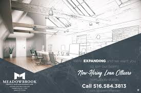 meadowbrook financial mortgage bankers corp linkedin meadowbrook financial mortgage bankers corp is growing and we want you to become part of our team to out more about our careers email us at