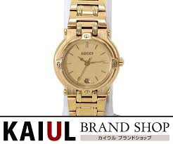 gucci 9200l. gucci lady\u0027s watch 9,200l gold gp clockface clock 9200l