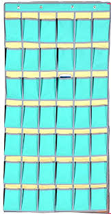 Amazon Com Pocket Charts For Classroom 42 Pockets Graphing