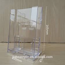 Acrylic Flyer Display Stand Plexiglass Acrylic Flyer Display StandA100 Brochure Display Holder 45